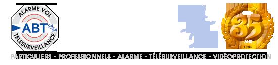 ABT 24/24 à Bordeaux Gironde Télésurveillance - Systèmes d'alarme - Vidéosurveillance - Alarme fumée - Contrôle d'accès